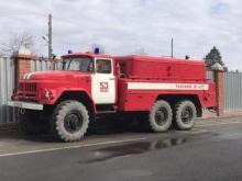 Экскурсия студентов в 53 пожарно-спасательную часть г. Ишима